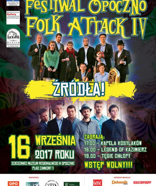 Festiwal Opoczno Folk Attack IV