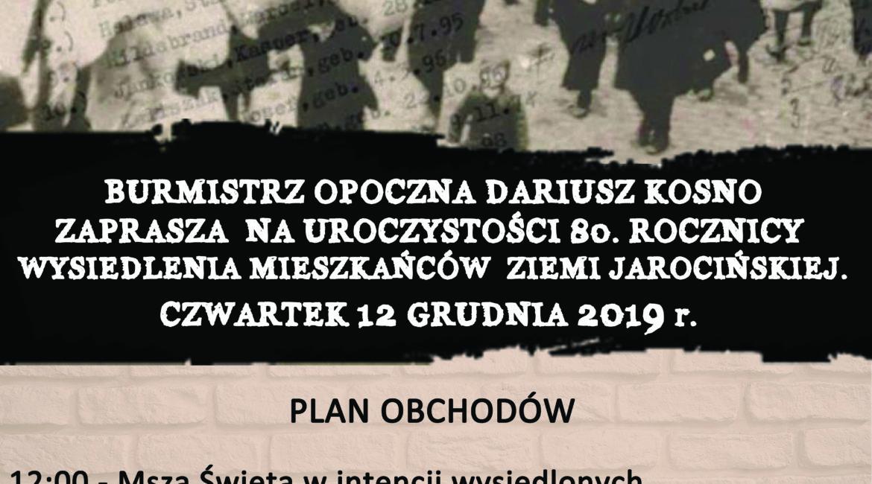 80. rocznica przesiedleń